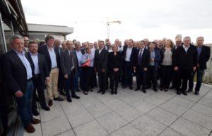 Les membres du conseil d'administration de la FFIE réunis à Lyon