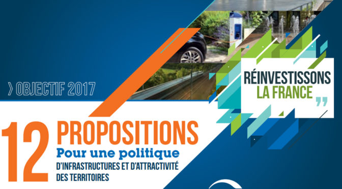 Infrastructures : Emmanuel Macron s'engage avec la FNTP