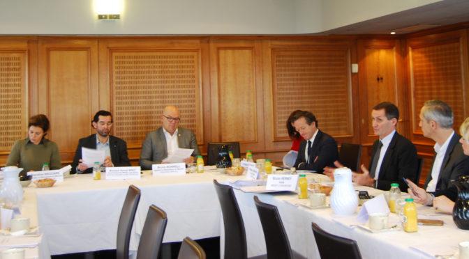 Rencontre avec les parlementaires En Marche : des échanges constructifs
