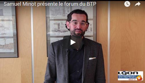 LE BTP FORME ET RECRUTE : INTERVIEW DE SAMUEL MINOT